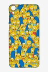 Simpsons Pattern Case for HTC Desire 826