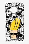 Johnny Bravo Doodle Case for HTC One M9 Plus