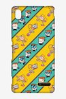 Dexter & Dee Dee See Stripes Case for Sony Xperia M4