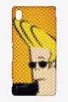 Dotted Johnny Bravo Case for Sony Xperia M4