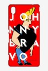 Johnny Bravo In Red Case for Sony Xperia M4