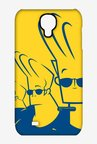 Johnny Bravo Different Poses Case for Samsung S4