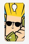 Johnny Bravo On The Phone Case for Samsung S4