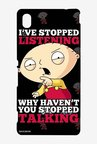 Family Guy Just Stop Talking Case for Sony Xperia M4