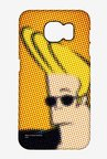 Dotted Johnny Bravo Case for Samsung S6