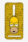 Simpsons Homer Says Case for Asus Zenfone 2