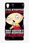 Family Guy Just Stop Talking Case for Sony Xperia Z3