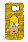 Simpsons Homer Says Case for Samsung S6 Edge Plus