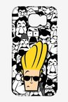 Johnny Bravo Doodle Case for Samsung S6 Edge Plus