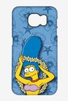 Simpsons Marge Hawaii Case for Samsung S6