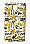 Simpsons Random Expressions Case for Samsung Note 3