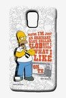 Simpsons Blue Collar Slob Case for Samsung S5