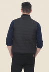 Basics Anthracite Black Polyfill Jacket