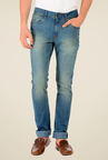 Red Tape Blue Low Rise Jeans