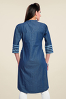 Zola Blue Striped Kurti