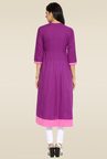 Mytri Purple Ethnic Kurta