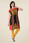 Juniper Multicolor Printed Kurti