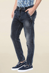 Mufti Deep Blue Acid Washed Jeans