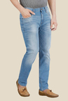 Lee Bruce Sky Blue Low Rise Jeans