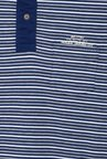 Allen Solly Navy Regular Fit Striped T-Shirt
