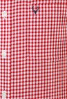 Allen Solly Red Full Sleeves Cotton Shirt