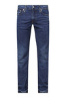 Levi's 513 Ink Blue Mid Rise Straight Fit Jeans