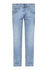 Levi's 65504 Sky Blue Lightly Washed Mid Rise Jeans