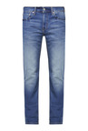 Levi's 511 Blue Heavily Washed Slim Fit Jeans