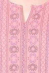 People Peach Printed Tunic