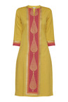 Utsa by Westside Yellow Printed Kurta