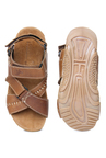 Buckaroo Marshal Brown Back Strap Sandals