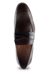 Ruosh Dark Brown Casual Slip-Ons