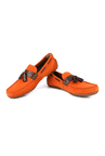 Ruosh Orange Boat Shoes