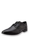 Ruosh Black Derby Shoes