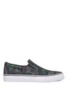 DC Trase S Navy & Green Plimsolls