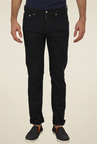 Levi's 511 Black Mid Rise Cotton Jeans