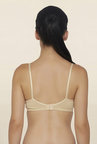 Libertina Beige Non Wired Non Padded T Shirt Bra