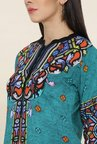 Shree Teal Printed Kurta
