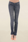 Pepe Jeans Grey Slim Fit Lightly Washed Low Rise Jeans