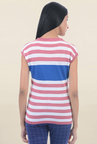 Pepe Jeans Pink Striped Sweater