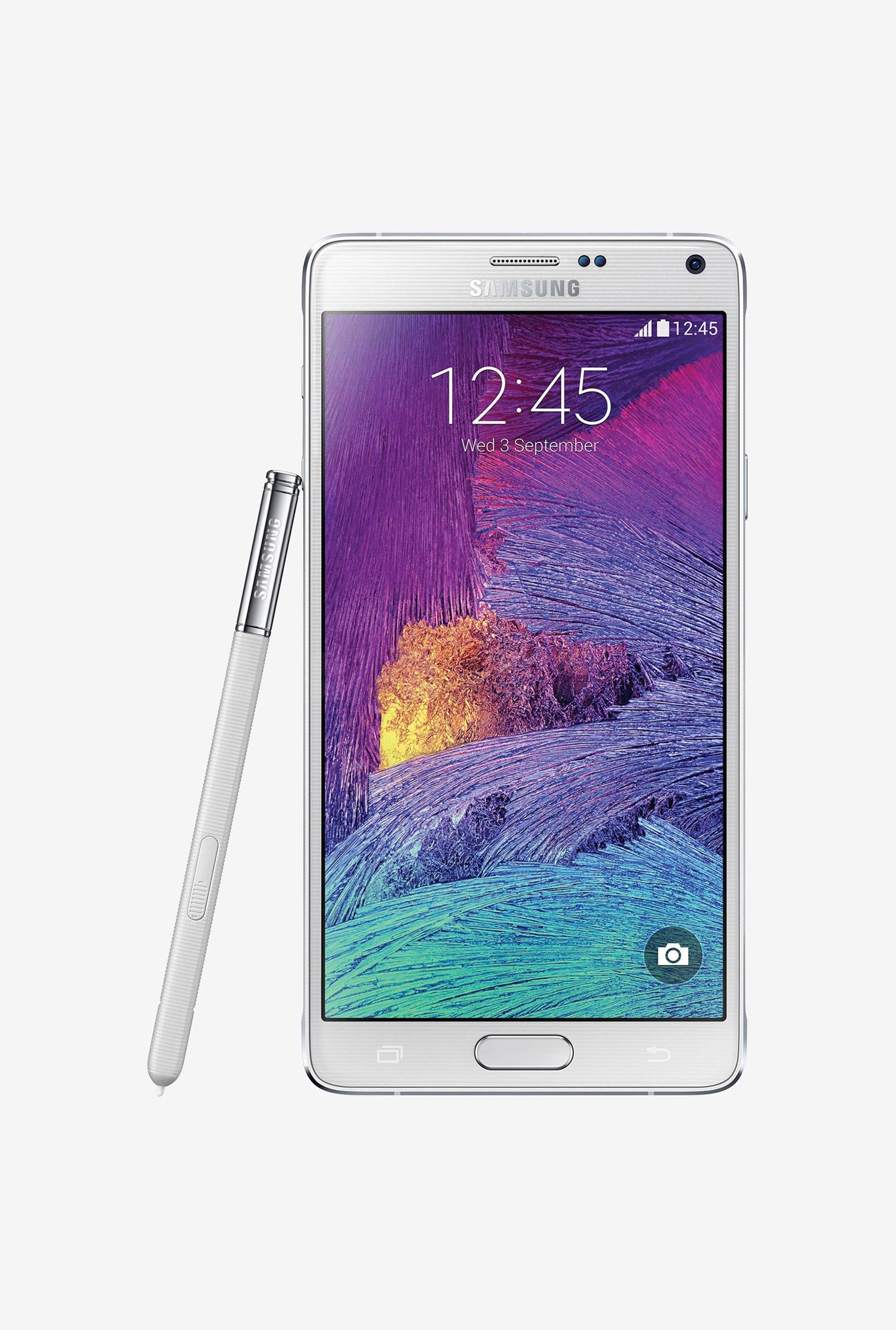 Samsung Note 4 N910G 32 GB (White) 3 GB RAM, Single SIM