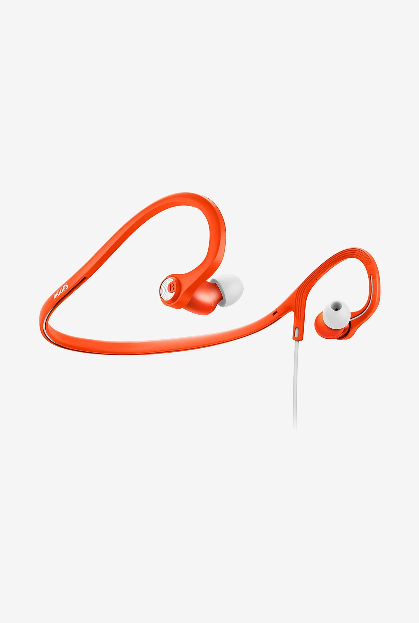 Philips ActionFit SHQ4300OR/00 In the Ear Headphone Orange