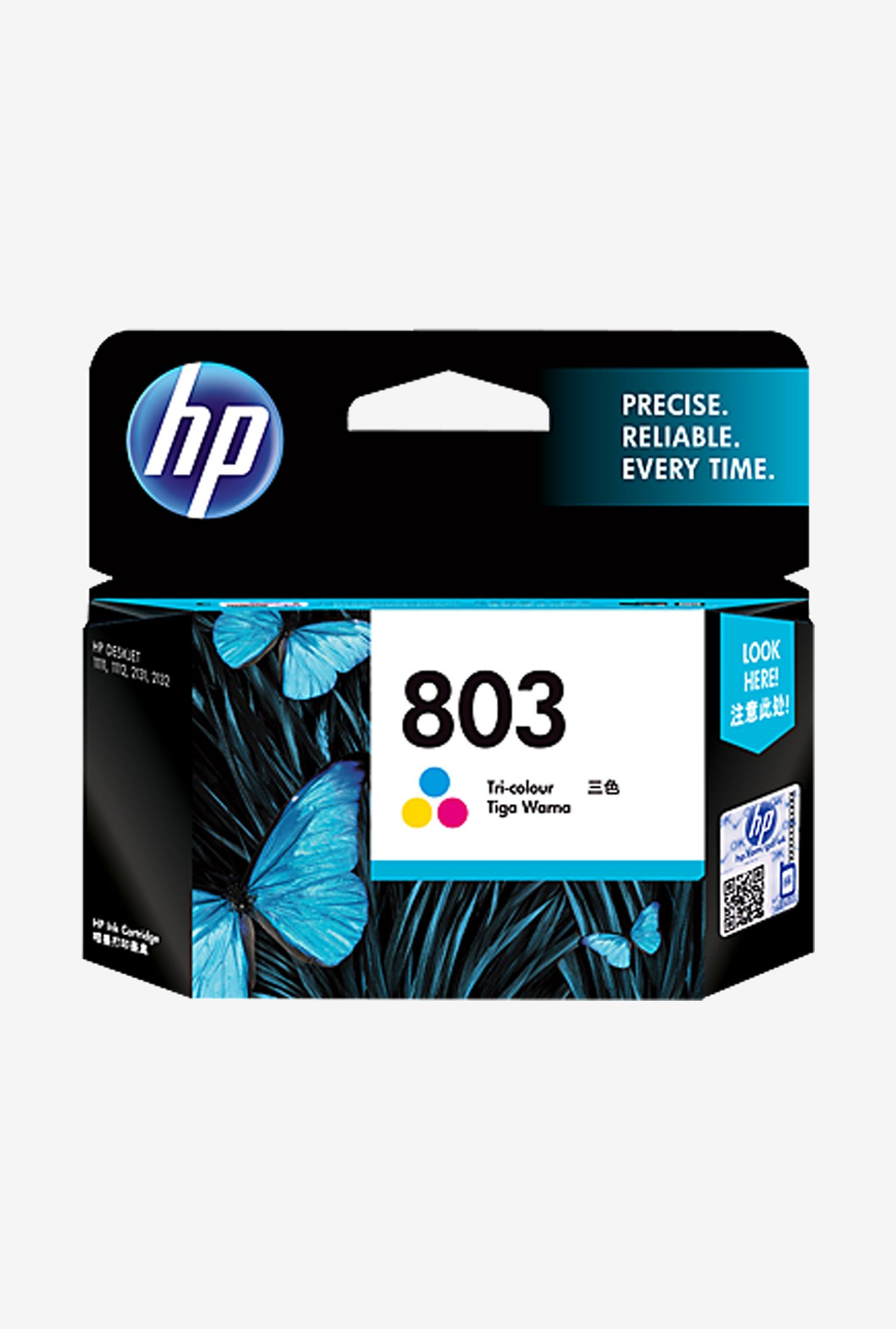 HP 803 F6V20AA Cartridge Tri Colour