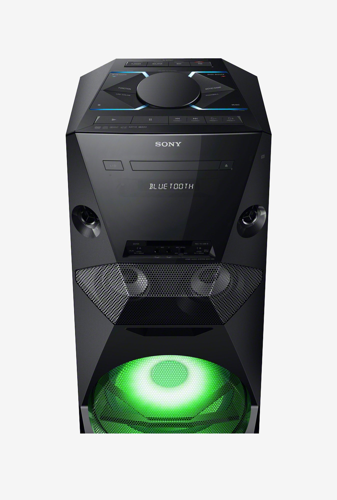 SONY MHC-V6D Bluetooth Speaker Black