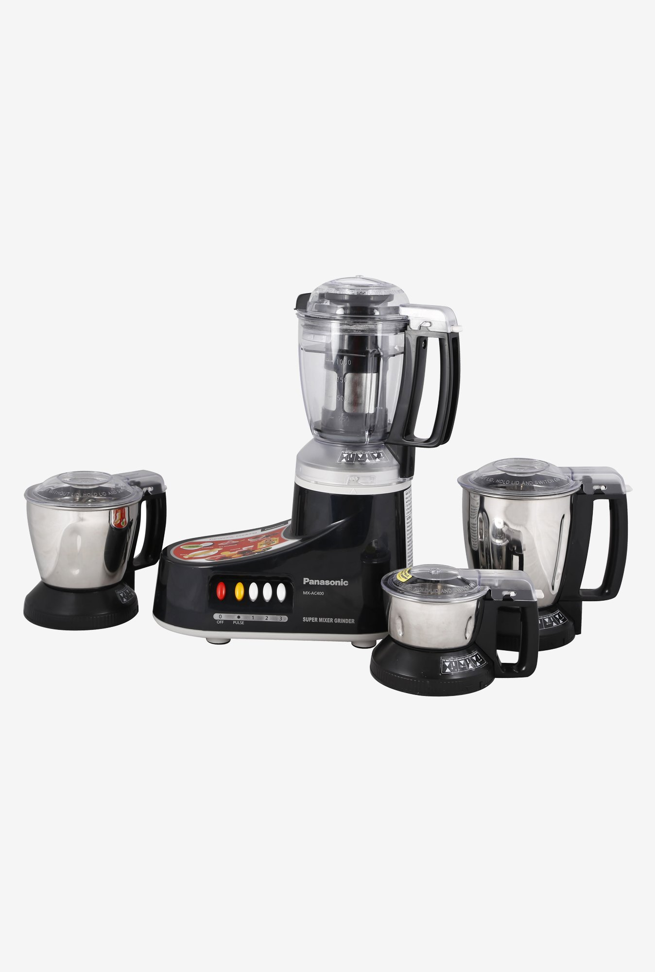 PANASONIC MX-AC400 Mixer Grinder Black