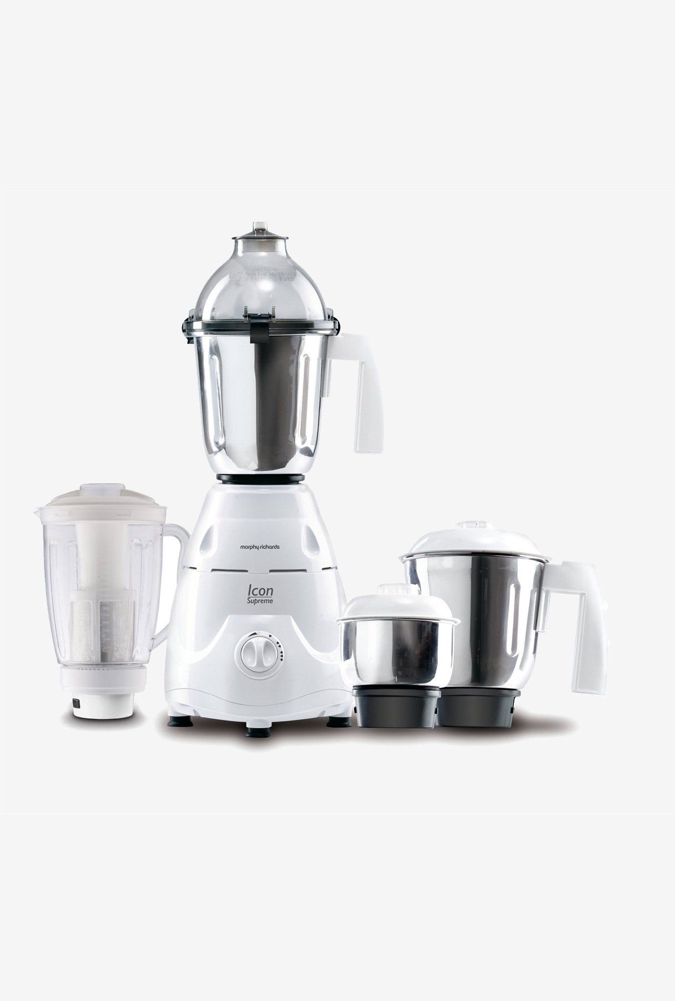 Morphy Richards  Icon Supreme 750W Mixer Grinder White
