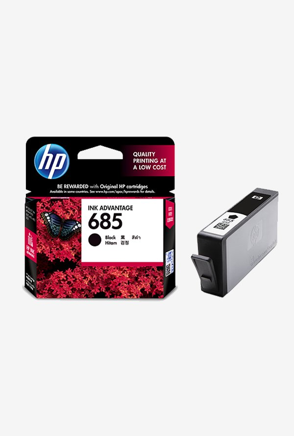 HP 685 2-Pack Advantage CZ121AA Ink Cartridge Black