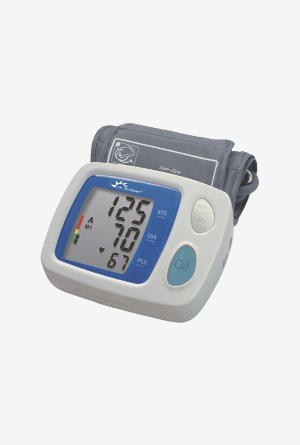 Dr Morepen Blood Pressure BP06 Monitor White