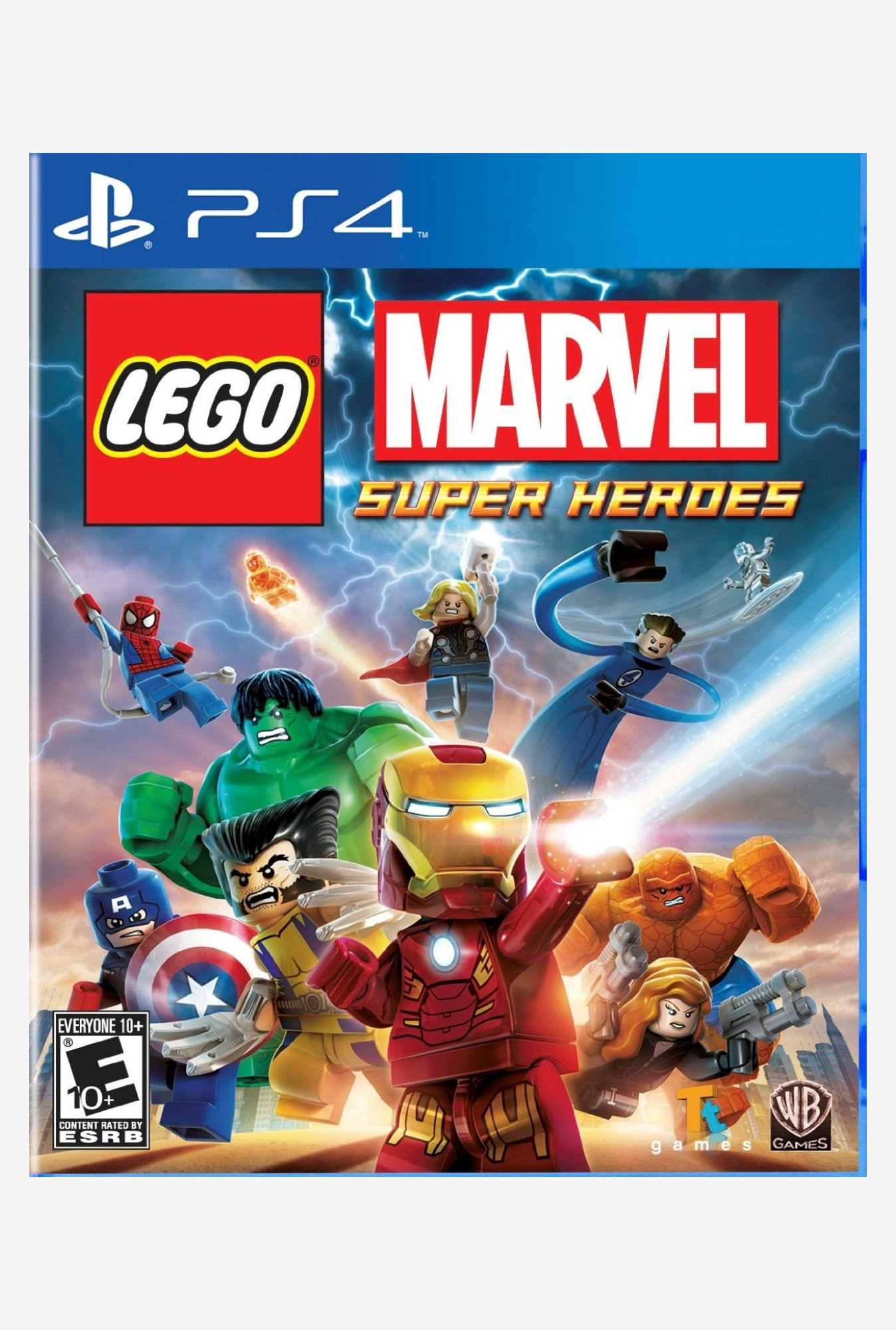 Warner Brothers LEGO Marvel Super Heroes (PS4)