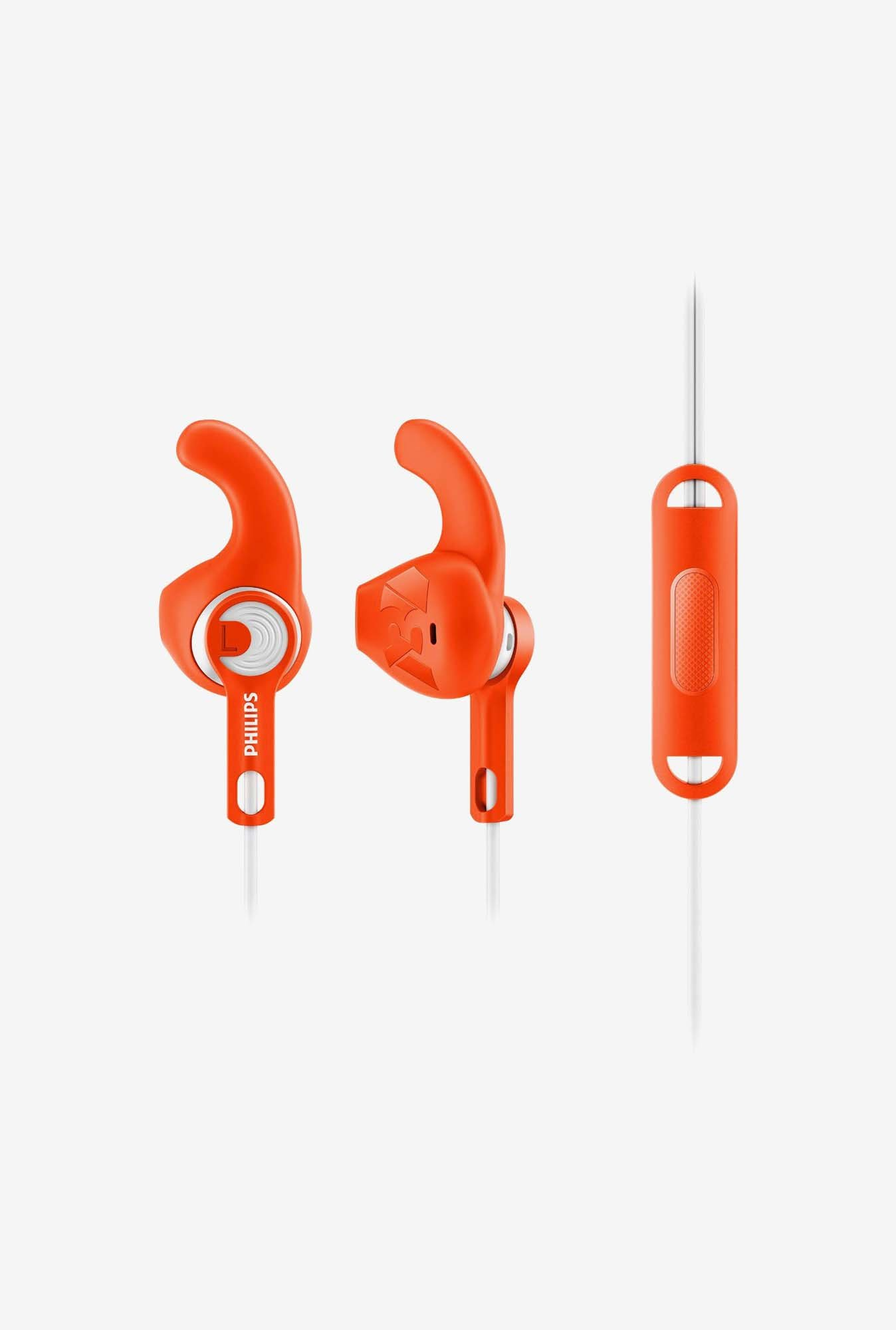 Philips ActionFit Sports SHQ1305OR Headphone Orange